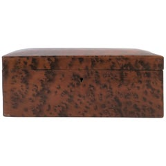 Vintage Burl Wood Box