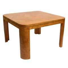 Burl Wood dining or Game Table