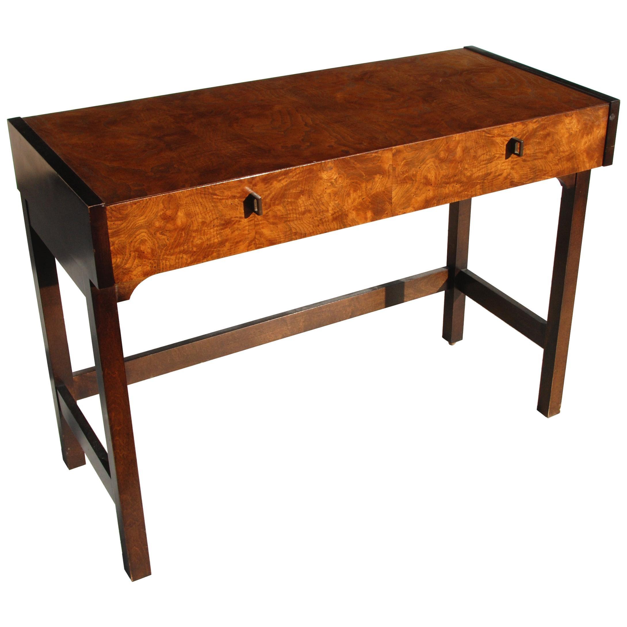 Burl Writing Desk by Century Furniture