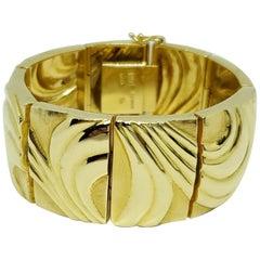 Burle Marx 18 Karat Gold Bracelet
