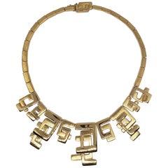 Burle Marx 18 Karat Gold Necklace