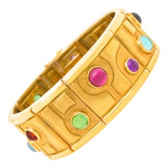 Burle Marx Modernist Gold Bracelet