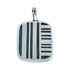 Burle Marx Small Silver Pendant