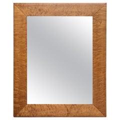 Burled Maple Mirror, circa 1900