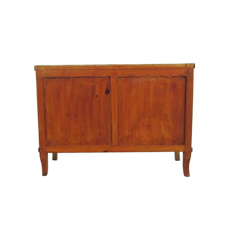 Contemporary Burled Wood Art Deco Style Dresser For Sale