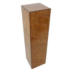Burlwood Pedestal by Drexel