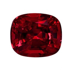Burma Red Spinel Ring Gem 5.13 Carat AGL Certified Classic Burma Loose Gemstone
