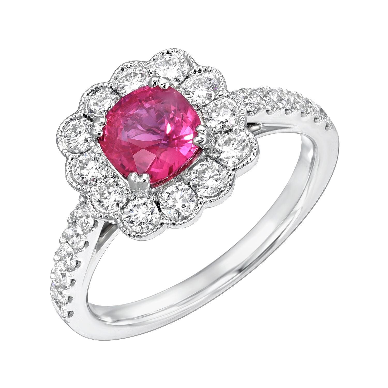 Burma Ruby Ring 1.12 Carats