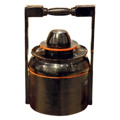 Burmese Black Food Container