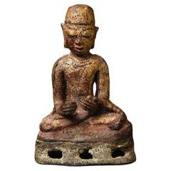 Burmese Monk, Cast Out of a Lead/Bronze Alloy, 5184