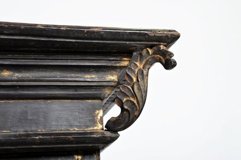 Burmese Temple Manuscript Cabinet with Original Patina For Sale 4