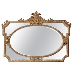 Burnished Gold Mirror by Spini Firenze