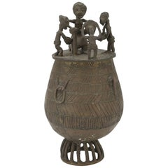 Burnished Patina Bronze Case, Africa Early 20th Century