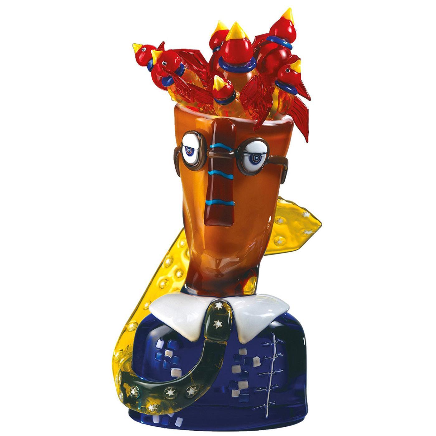 Burocrata Sculpture by Alfredo Sosabravo Limited Edition