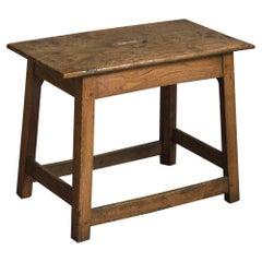 Burr Elm Low Table