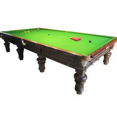 Burroughes and Watts Snooker Table