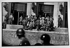 Little Rock, Arkansas, Black and White Photography Civil Rights Movement USA