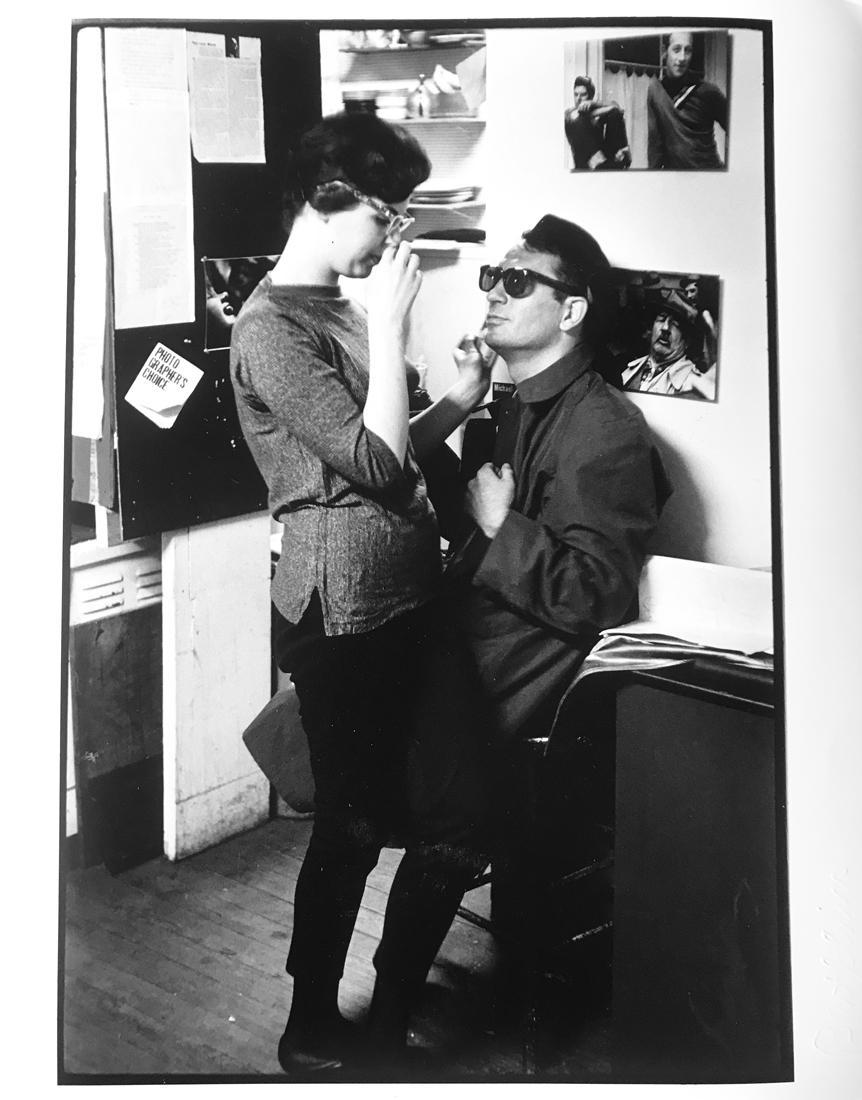 Author Jack Kerouac, Gelatin Silver Portrait Photo of Beat Generation Couple