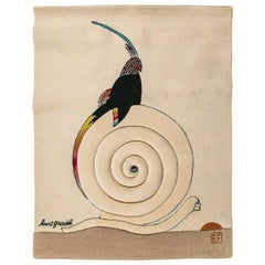 Burt Groedel Designed Tapestry or Rug for Edward Fields