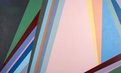 Overture - Hard Edged Geometric painting