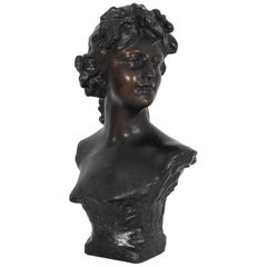 Bust of a Young Woman, Turn of the Century
