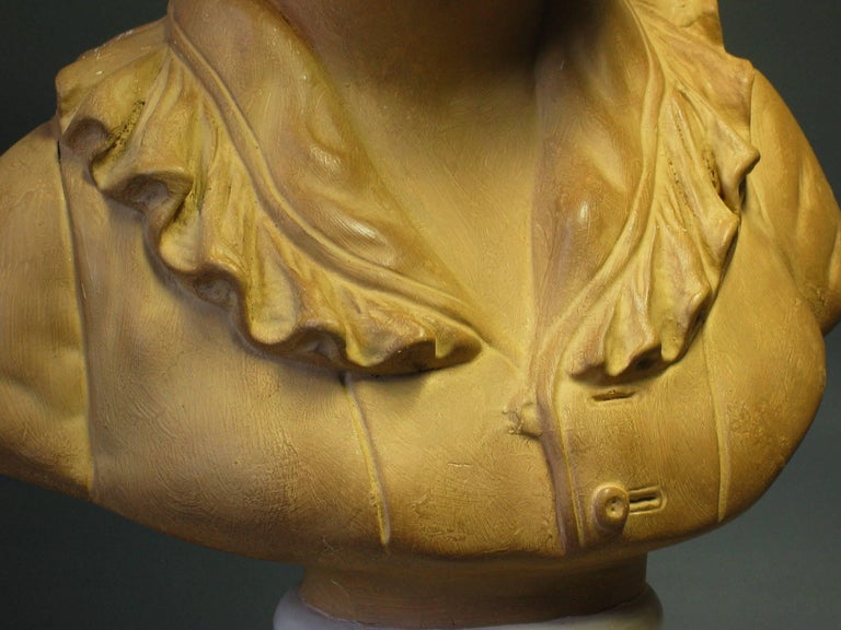 Bust of Alexandre Brongniart First Half of 20th Century For Sale 3