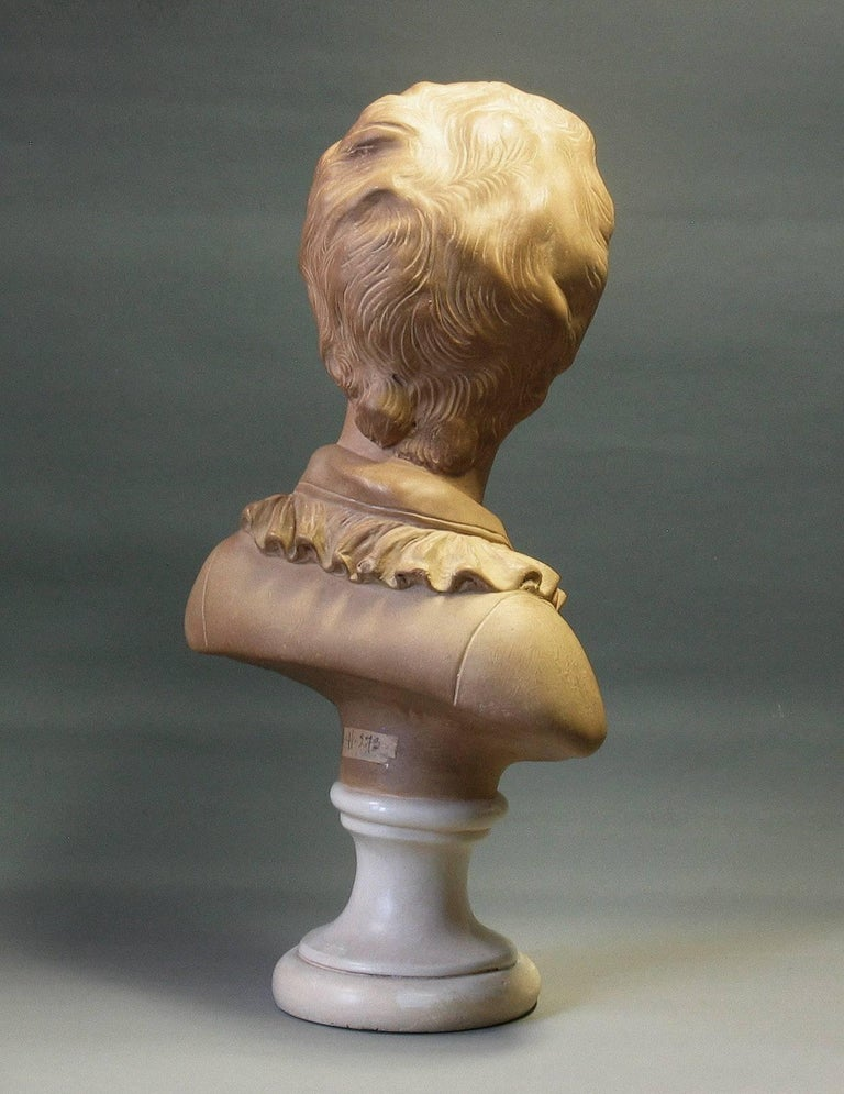 French Bust of Alexandre Brongniart First Half of 20th Century For Sale