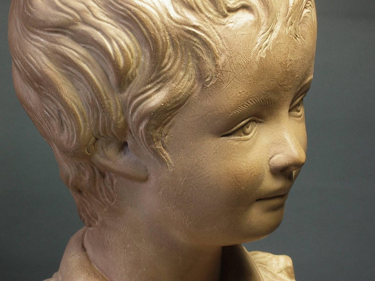 Bust of Alexandre Brongniart First Half of 20th Century For Sale 2