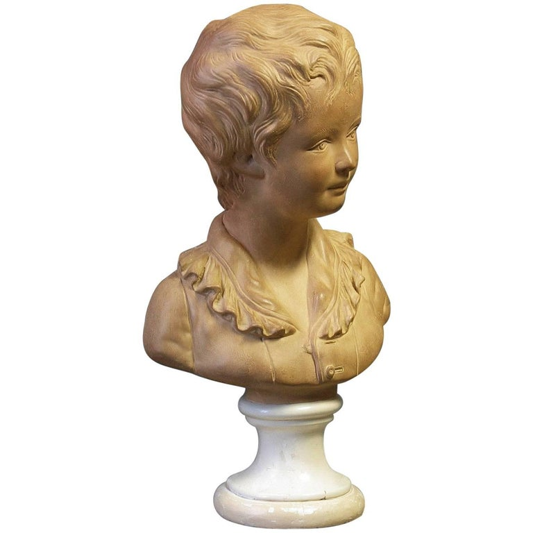 Bust of Alexandre Brongniart First Half of 20th Century For Sale