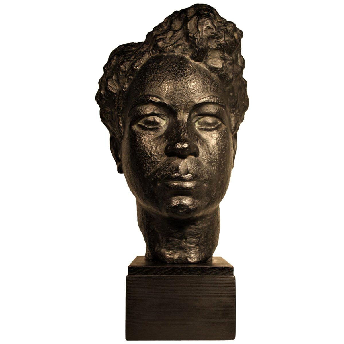 Bust of an African Woman by Marguerite Acarin