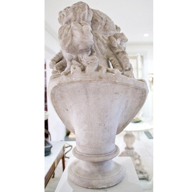 Büste des Antinous als Dionysos, 19. Jahrhundert 6