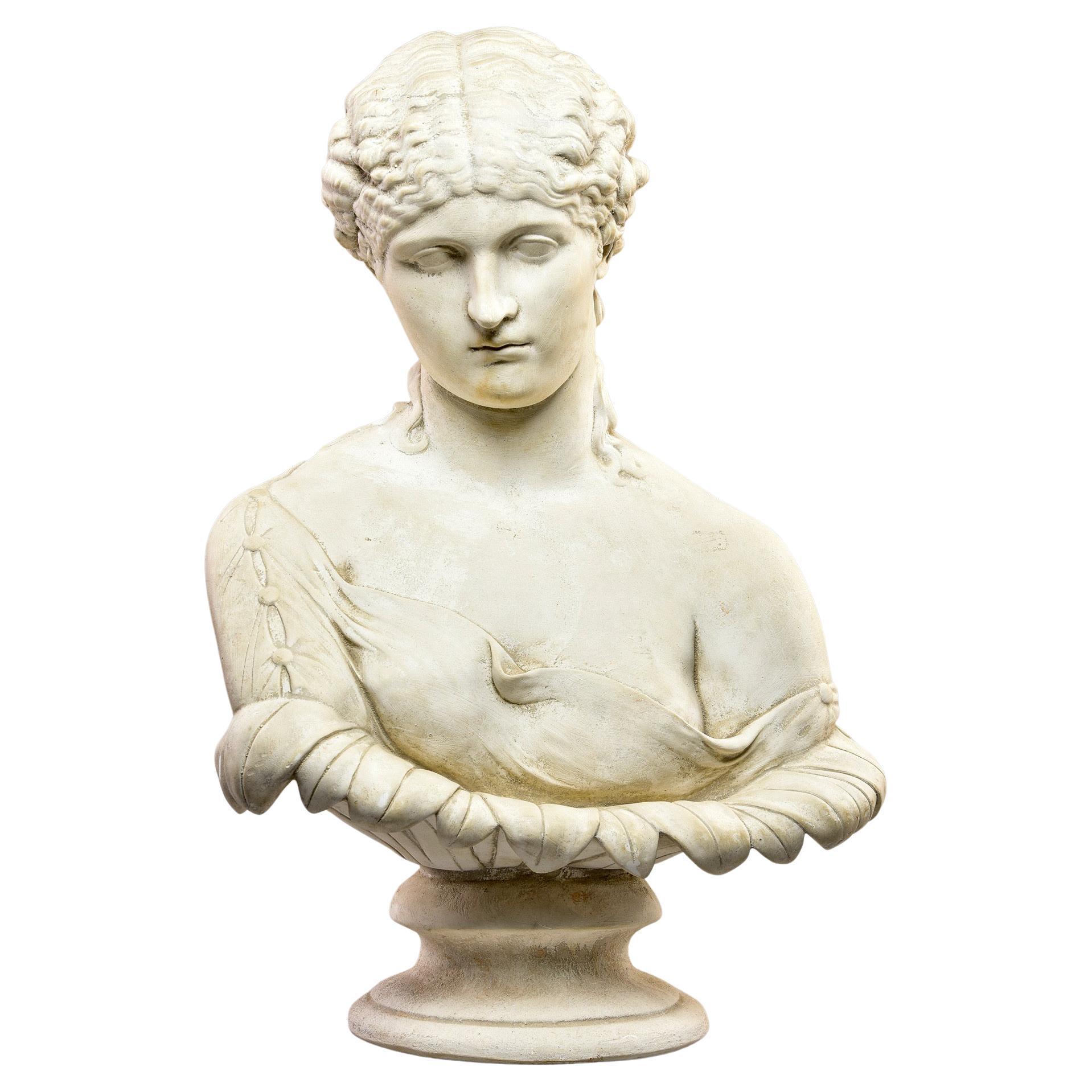 Bust of Classical Greek Female Figure