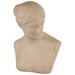 "Bust of ""Greek Slave"" by Hiram Powers"