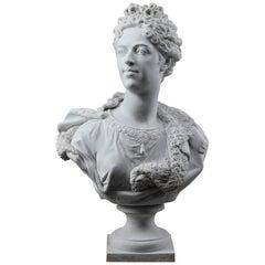 Büste von Marie Adélaïde of Savoy, Herzogin von Burgund nach Coysevox