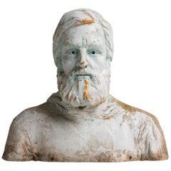 Bust of Sea Captain, America, 19th Century