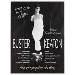 'Buster Keaton Festival' 1980s French Grande Poster
