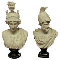 Busts of Ajax & Roma