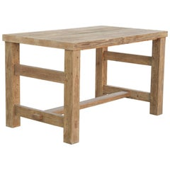 Reclaimed Pine Butcher Block Kitchen Island, Made to Order by Petersen Antiques