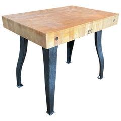 Butcher Block Table / Island