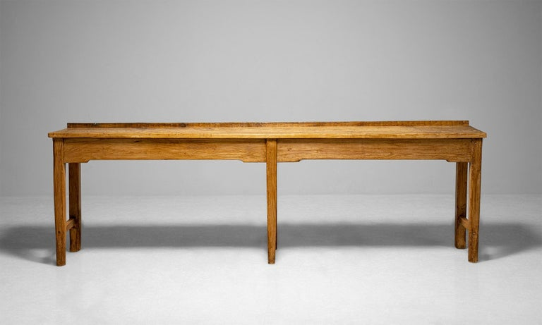 Late 19th Century Butchers Bench Work Table, England circa 1890 For Sale
