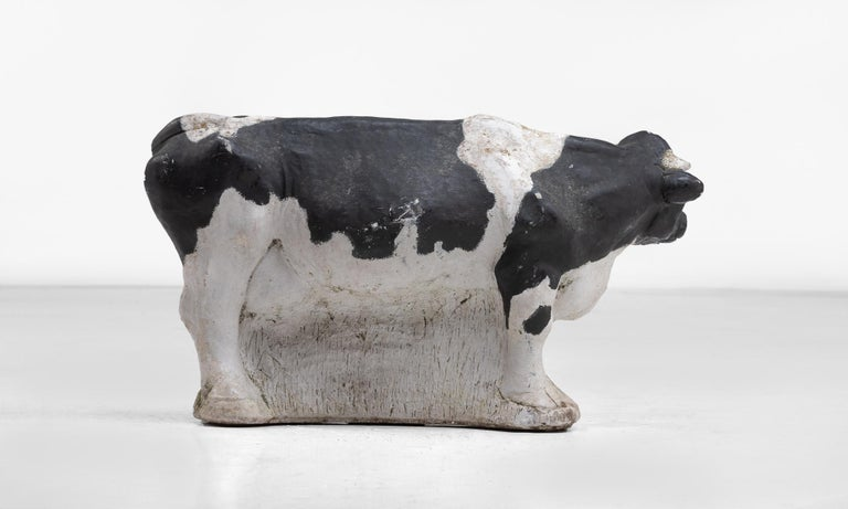 Belgian Butchers Stone Cow, circa 1950 For Sale