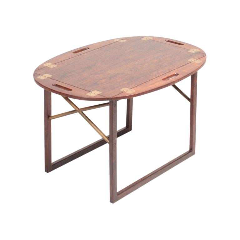 Butlers Tray in Rosewood by Svend Langkilde, Danish Midcentury, 1950s