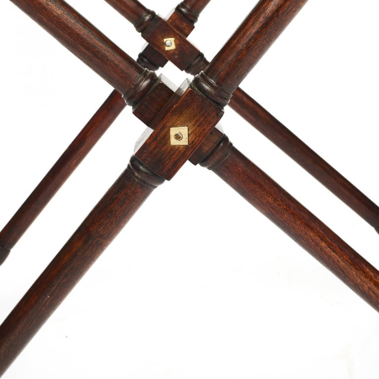 Butler's Tray, Victorian Mahogany, England, 1850-1860 For Sale 8
