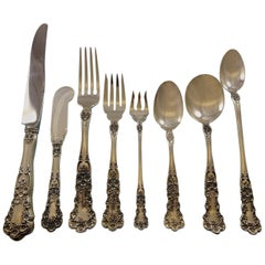 Buttercup by Gorham Sterling Silver Flatware Set 8 Service 72 Pieces Dinner