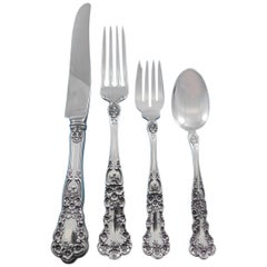 Buttercup by Gorham Sterling Silver Flatware Set for 12 Service 51 Pieces Dinner