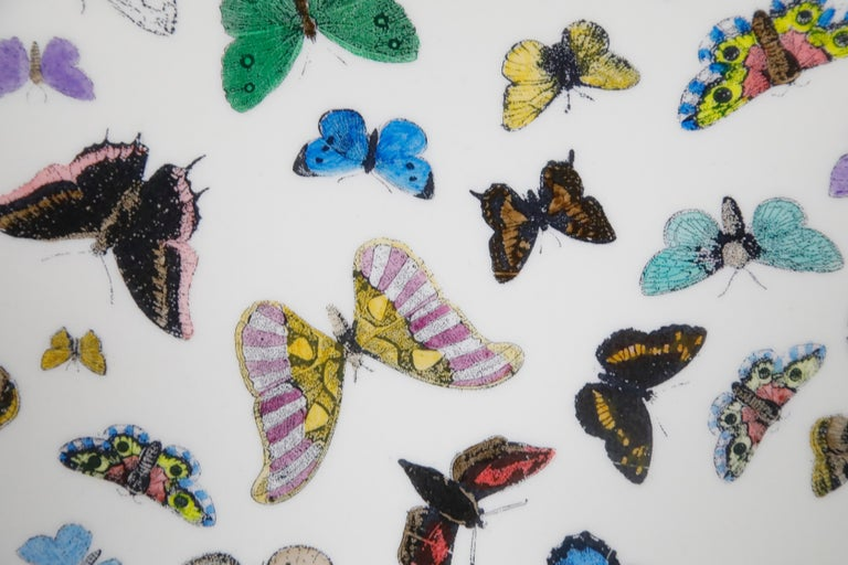 'Butterflies' Cafe Dining Table by Piero Fornasetti, circa 1960s Italy, Signed  For Sale 7