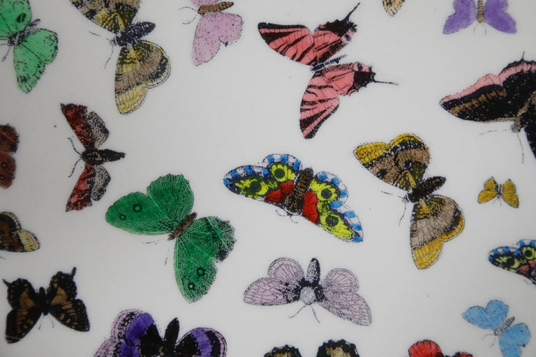 'Butterflies' Dining Table by Piero Fornasetti, circa 1960s Italy, Signed  For Sale 8