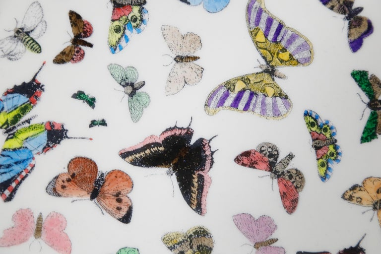 'Butterflies' Cafe Dining Table by Piero Fornasetti, circa 1960s Italy, Signed  For Sale 9