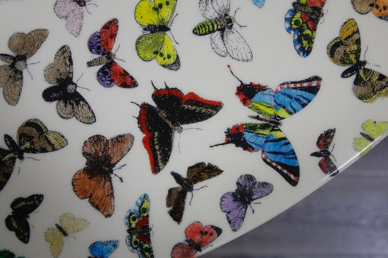 'Butterflies' Dining Table by Piero Fornasetti, circa 1960s Italy, Signed  For Sale 1