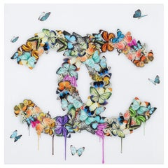 Butterflies Plexiglass Wall Decoration
